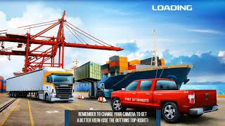 Cargo Crew Port Truck Driver (New Vehicule Euro Freight) Android/ios Gameplay 2018