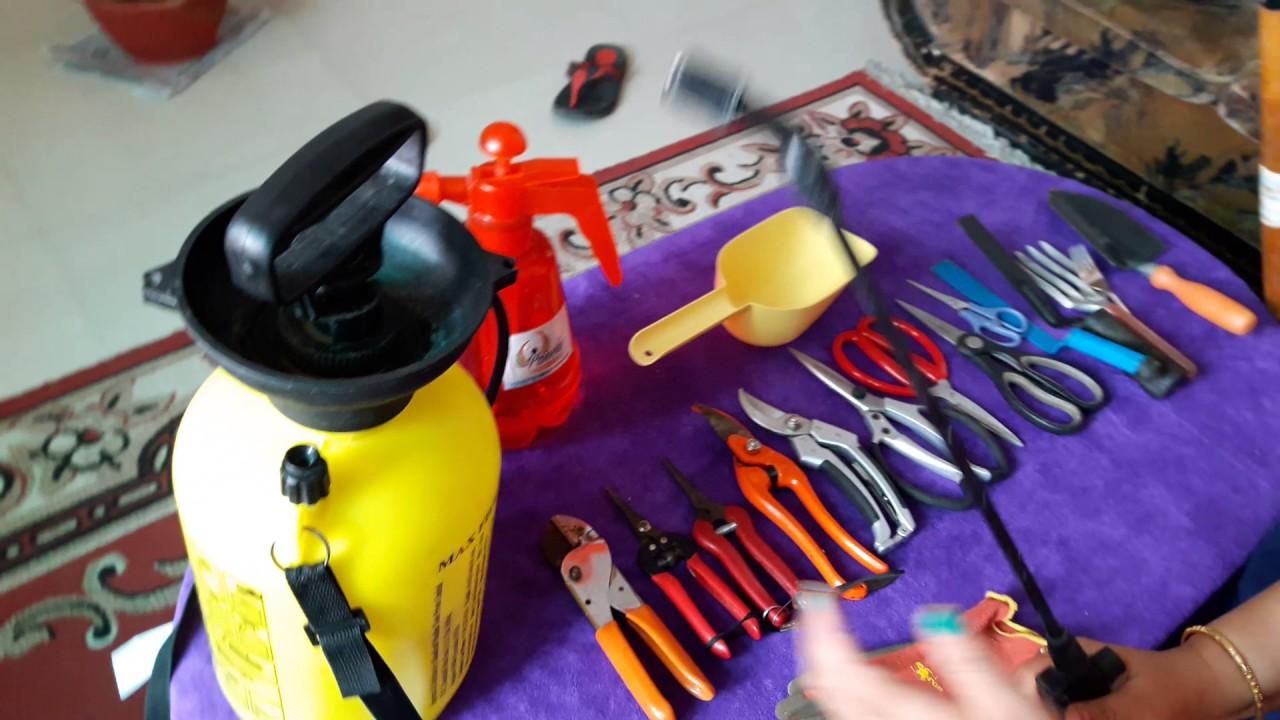 Common Gardening Tools Gardening Equipment A Gardener Should