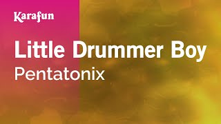 Karaoke Little Drummer Boy - Pentatonix *