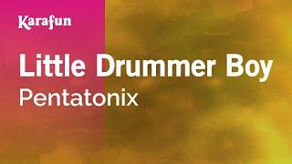 Karaoke Little Drummer Boy - Pentatonix *