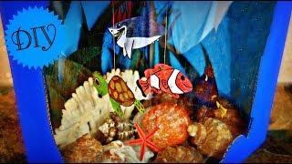 DIY MINI FISH TANK TUTORIAL | FINDING NEMO AQUARIUM | MAISON ZIZOU