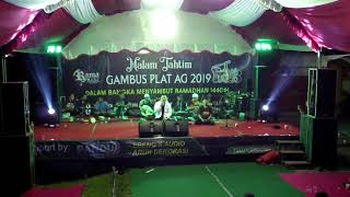 Malam Tahtim Gambus Bulan Dalam Pelukan Gambus plat AG 2019