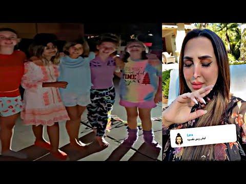 هند القحطاني ترد بقوة على متابعيها بسبب بنتها الصغيرة ربى 😱😲