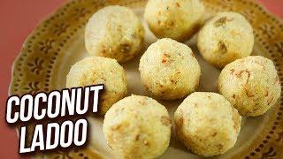 Ganpati Special Coconut Ladoo Recipe - Nariyal Ke Ladoo - Instant Laddu Recipe - Varun Inamdar