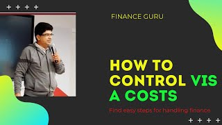 How to control visa cost in Tally