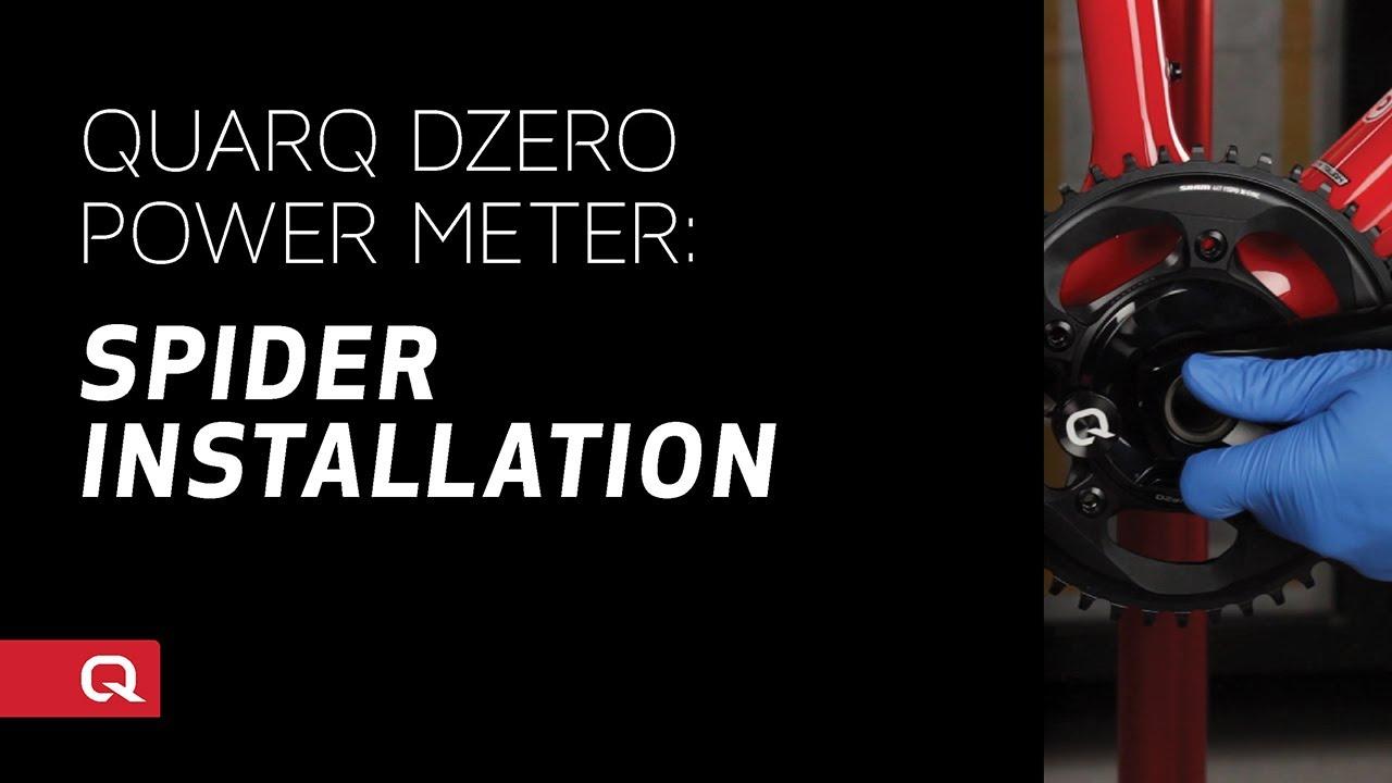 Quarq DZero Dub Power Meter Spider