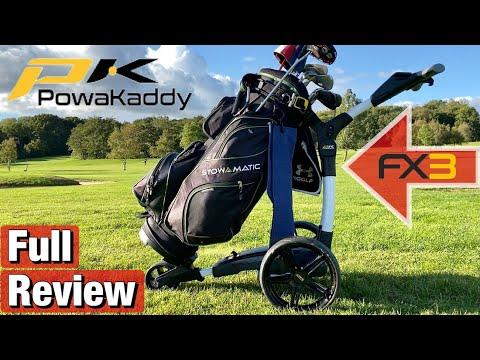 Powakaddy FX3 review - should you buy an electric trolley?