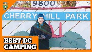 BEST CAMPING NEAR WASHINGTON DC   CHERRY HILL PARK