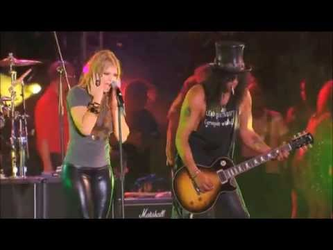 Slash (feat. Fergie) – Sweet Child O'Mine