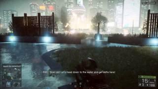 Destroying A Tank - Battlefield 4 Campaign Mode {1080p}