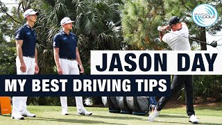 JASON DAY - My BEST Driving Tips | ME AND MY GOLF