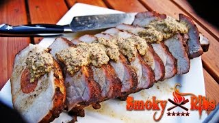 "Andouille ""Stuffed Pork Loin"""