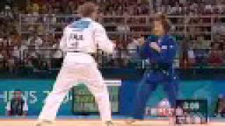 谷亮子の4年前アテネオリンピック 金メダル 48kg級 thumbnail