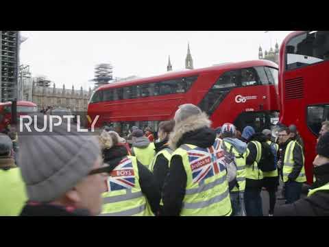 UK: Pro-Brexit Yellow Vest protest organiser Goddard arrested in London