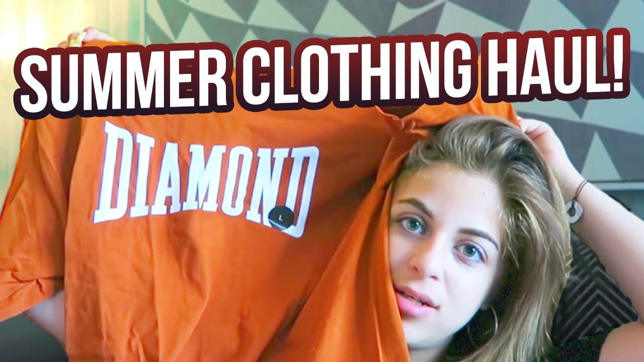 HUGE SUMMER 2017 CLOTHING HAUL!!!