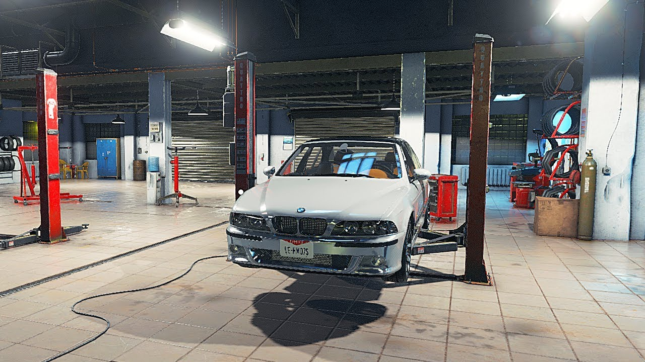 СДЕЛАЛ РЕМОНТ В СТО И КУПИЛ BMW E39 M5 - CAR MECHANIC SIMULATOR 2018