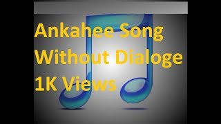 Gambar cover Ankahee song without dialogs from Tanhaiyan Hotstar star plus