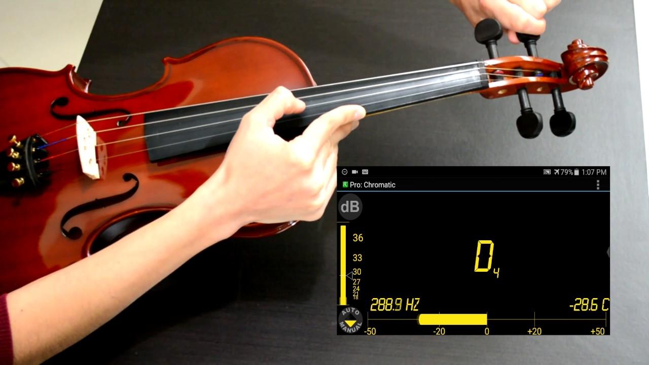 Como Afinar El Violin Youtube
