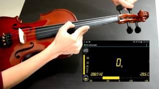 Como afinar el violin