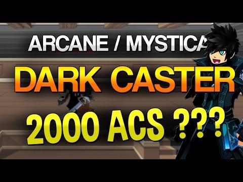 Arcane Dark Caster Class / Mystical Dark caster Class is it Worth 2000 Acs AQW 2016