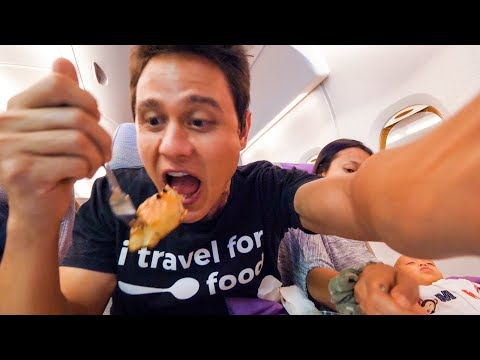 Emirates Airline FOOD REVIEW - Bangkok to Dubai  to Munich |