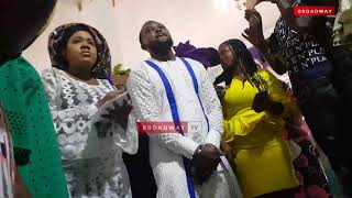 Toyin Abraham and Kolawole Ajeyemi Dedicate Baby Ire In Church