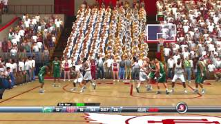 2K Sports College Hoops 2K8 Michigan State Spartans vs Indiana Hoosiers