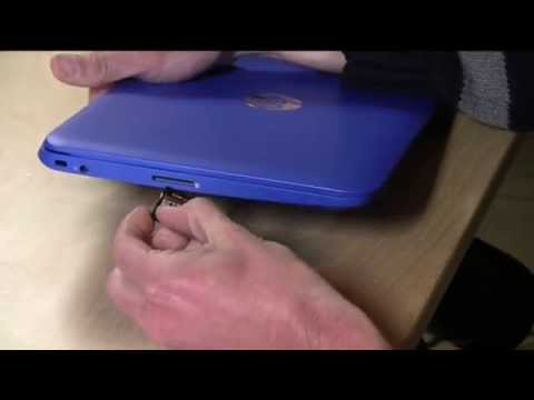 HP Stream 11 Followup : Does the SD memory card sit flush to the case or does it stick out?