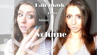 видео Маска для сухих кончиков волос в домашних условиях