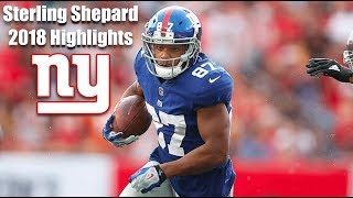 Sterling Shepard Complete 2018 Highlights HD