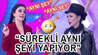Deniz Saral'dan Simay'a Enteresan Benzetme!