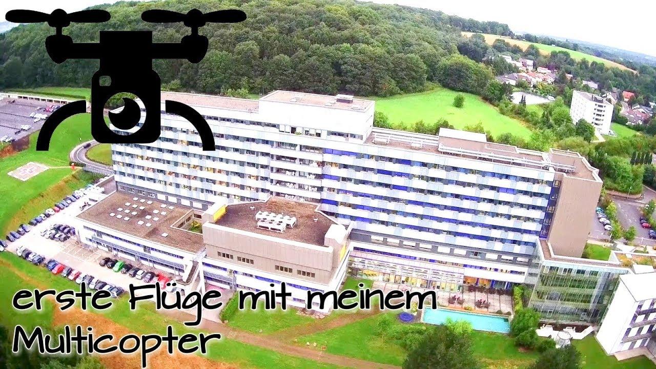 LET'S FLY | ERSTER FLUG über die Klinik Püttlingen ...