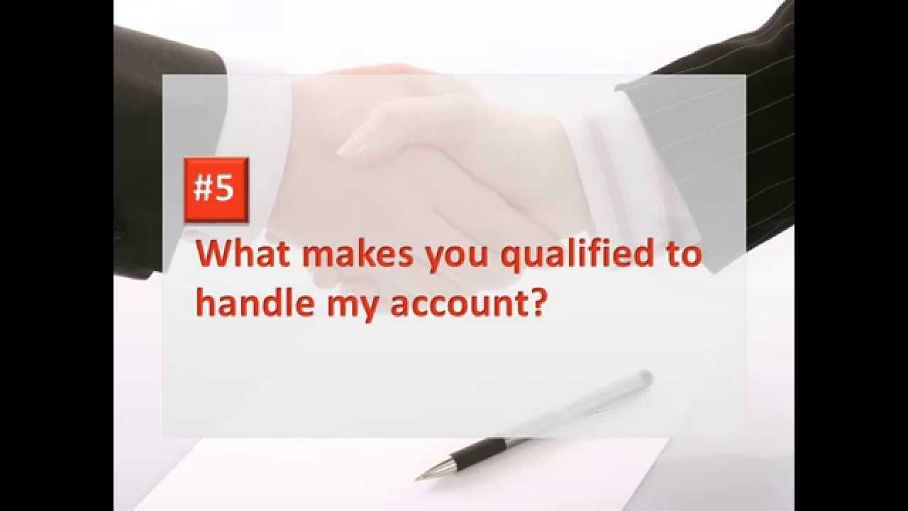 interview questions every financial advisor should expect 8 interview questions every financial advisor should expect