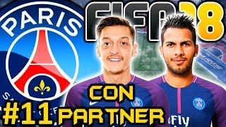 FIFA 18 PSG Modo Carrera #11 | NO ME GUSTA EL EQUIPO | CON PARTNER