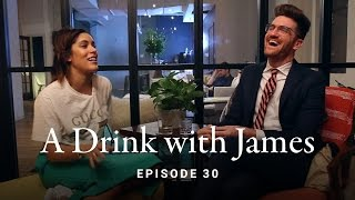 A Drink with James Episode 30 - A Conversation with Christina Caradona (@troprouge)