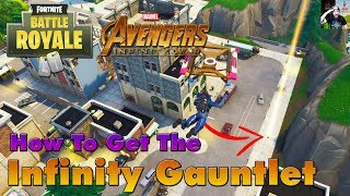 How To Get The Infinity Gauntlet in Fortnite Battle Royale (Increase Your Chances Drastically)