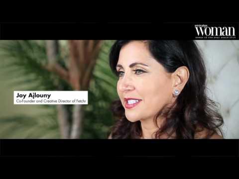 Emirates Woman, Woman Of The Year Awards 2016, Visionaries Nominee — Joy Ajlouny