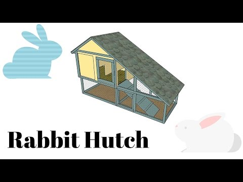 Free Rabbit Hutch Plans