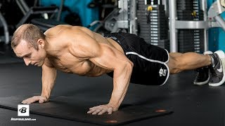 "15 Minute Full Body at Home Workout | Pro Natural Bodybuilder Jackson ""Bajheera"" Bliton"