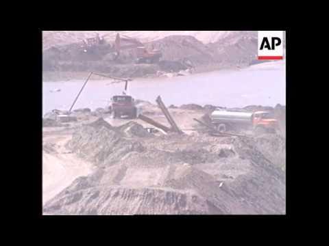 IRAQ: NEW AL-ADHEEM DAM TO OPEN IN APRIL
