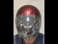 Bell V Biltwell Chrome Bubble Visor