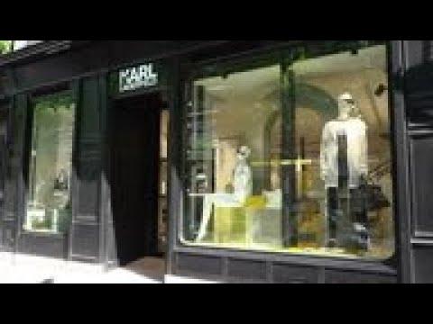 Karl Lagerfeld Store In Paris Reopens