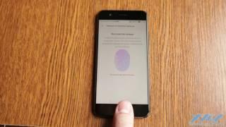 сканер отпечатков в Huawei P10 (XDRV.RU)