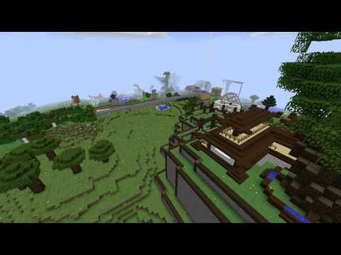 24 Hours - Minecraft Time Lapse