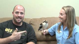 Mix 105.1's Jay Edwards Meets a Laughing Kookaburra from SeaWorld!