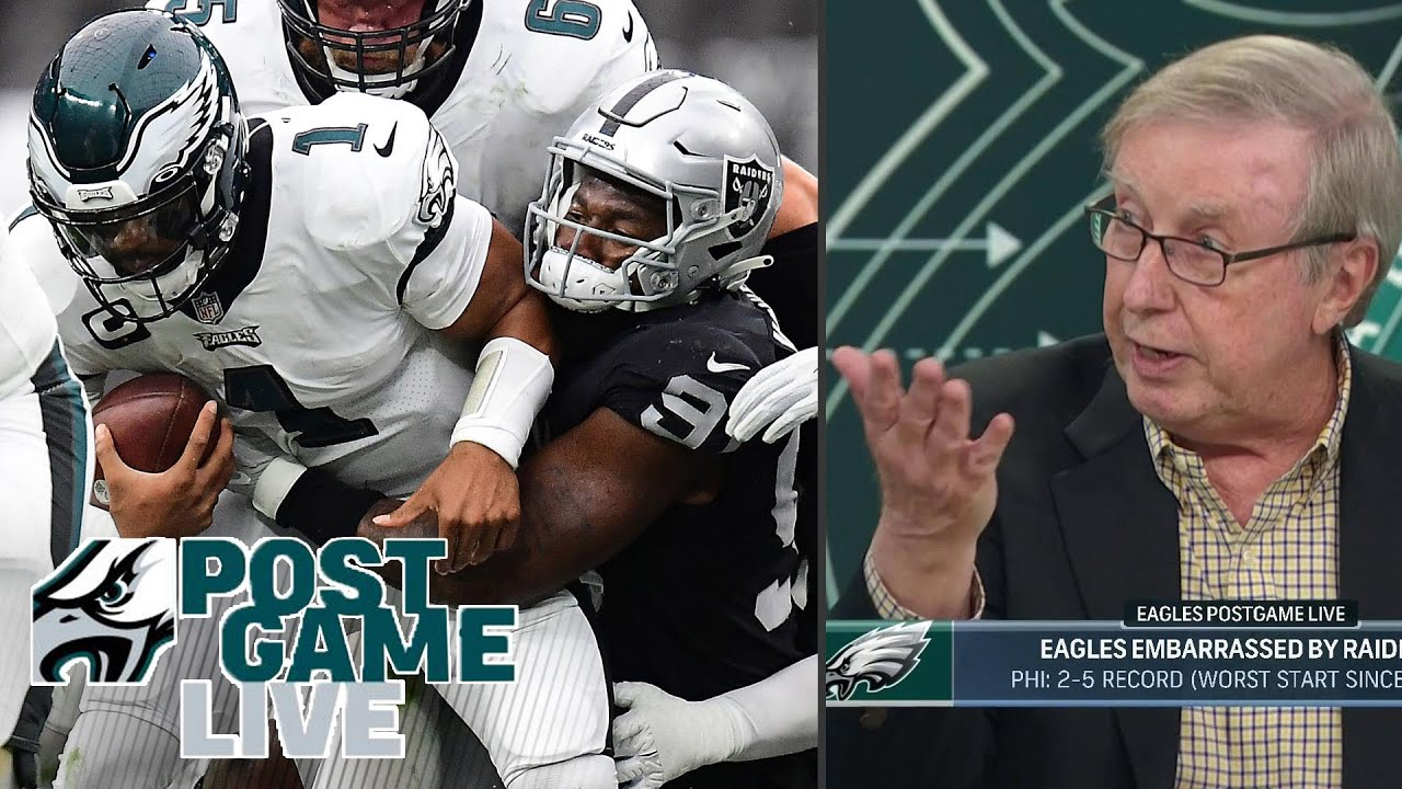 The Eagles are a bad team and worked hard to become one. Don't ...