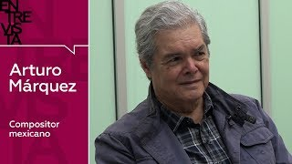 Arturo Márquez, compositor mexicano - Entrevista en RT