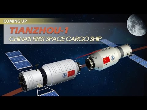 Live: China's first space cargo ship launching in hours