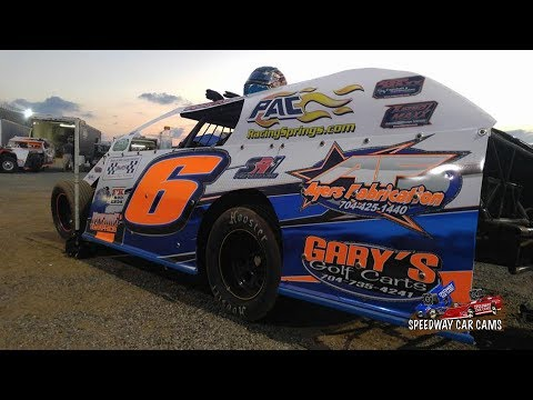 #6 Ryan Ayers - Open Wheel Modified - 11-10-17 County Line Raceway - In Car Camera