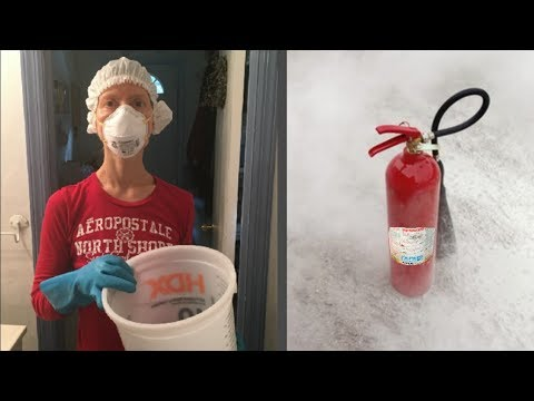 How To Clean An Oven After A Fire Extinguisher Mycoffeepot Org